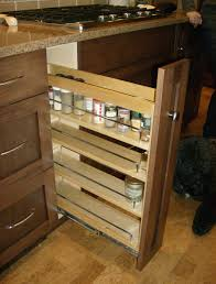 inabinet pull out spice rack kitchen drawer organizers wall base