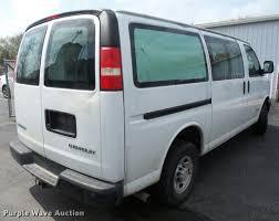 2006 chevrolet express 3500 cargo van item da8097 sold