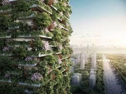 stefano boeri architetti builds tree covered skyscrapers in china