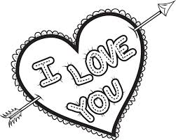Coloring Pages Hearts I Love You Coloring Pages Getcoloringpages Com by Coloring Pages Hearts