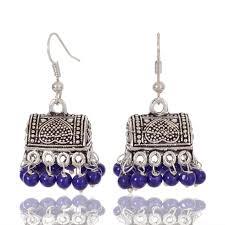 jhumki style earrings earrings online buy jaipur handcrafted traditional oxidized