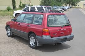 red subaru forester 2000 2000 subaru forester station wagon awd automatic 2 975 00