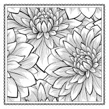 floral designs coloring pages copy free coloring book pages for