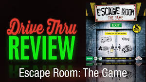 escape room the game review youtube