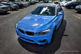 2015 bmw m3 sedan looks great in yas marina blue