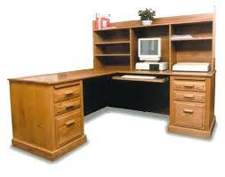 Oak Computer Desk With Hutch Corner Oak Computer Desk Desks With Hutch Home Decor Ideas Solid