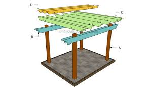 Wood For Pergola by Free Pergola Plans Myoutdoorplans Free Woodworking Plans And