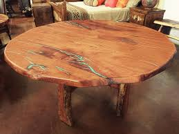 dining room tables phoenix tempe la casona 60 inch free form mesquite dining table