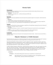 Sample Resume Profile Statement by 28 Resume Profile Statements Examples Of Profile Statements