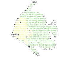 pattern poem definition shapes poems