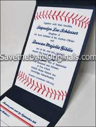 baseball wedding invitations sport and event ticket look a likes