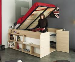 Bunk Cabin Beds Parisot Space Up Cabin Bed With Storage Avenue
