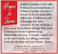 11 Things I Refuse To Prayer For Success September 11 Amen Scriptures And Affirmation