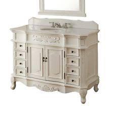 Antique Bathroom Vanity EBay - 48 bathroom vanity antique white