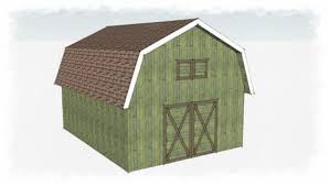 Gambrel Roof Barn The Gambrel Shed A Historic Shed Roof Line