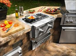 Built In Bbq Kitchen Outdoor Grill Cabinet L Shaped Outdoor Kitchen Built In