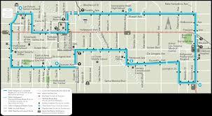 Santa Monica College Map Dash Hollywood Ladot Transit Services