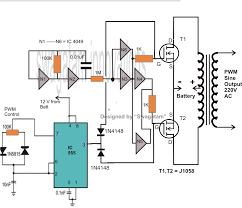 how to make a 500 va pwm controlled modified sine wave inverter
