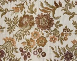 Regency Stripe Upholstery Fabric Pink Regency Stripe Brocade Upholstery Fabric Vintage Cream Pink