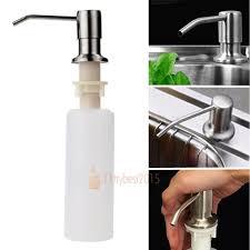 Soap Dispensers For Kitchen Sinks 350ml soap dispenser kitchen sink faucet bathroom shower lotion