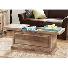 better homes and gardens crossmill coffee table better homes and gardens crossmill collection coffee table
