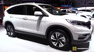honda crv 2015 honda cr v 4wd lifestyle diesel exterior and interior