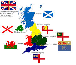 Medieval England Map by Sam U0027s Flags Federal Britain