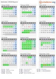 Kalender 2018 Hessen Ausdrucken Kalender 2018 Ferien Bayern Feiertage