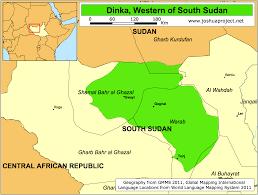 Map Of Sudan Dinka Territory South Sudan Dinka Nuer Shilluk Toposa
