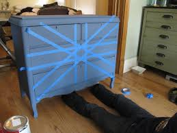 Update A Dresser Painting A Union Jack British Flag On A Dresser Tutorial Megmade
