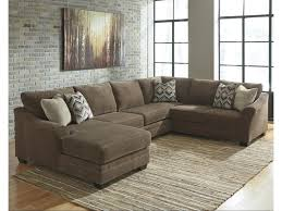 3 Piece Sectional Sofa With Chaise by Justyna Contemporary 3 Piece Sectional With Left Chaise Becker