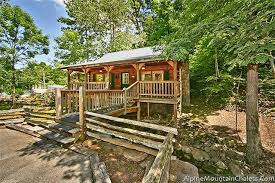 1 bedroom cabins pigeon forge and gatlinburg cabins alpine