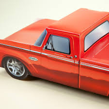 Classic Ford Truck Gifts - classic cruisers red 66 ford truck car party favors