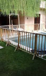 fence design bamboo pool fence how high does have to kid