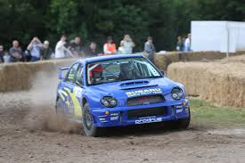 subaru rally jump goodwood festival of speed 2017 rally stage gallery autocar