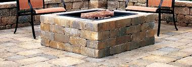 Brick Fire Pits by Firepits And Fireplaces Brick U0027s Landscape