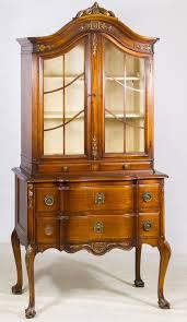 mahogany china cabinet furniture lot 71 mahogany china hutch by landstrom furniture corp having