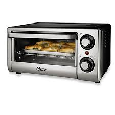 Under Cabinet 4 Slice Toaster by Oster 4 Slice Toaster Oven In Silver Bed Bath U0026 Beyond