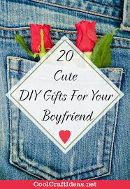 20 cute diy gifts for your boyfriend cool craft ideas l o o k