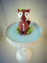 squirrel cake topper tutorial how to make a fox cake topper cakejournal