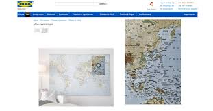 World Map Japan by Showing Compromise Ikea To Not Sell Controversial World Map Next