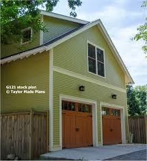 stock plan g121 this oversized tall 1 1 2 story 2 car garage has