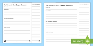 the in black chapter summary worksheet activity sheet