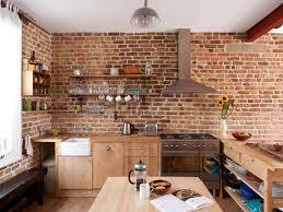 brick kitchen ideas contemporary kitchen by mdsx contractors ltd