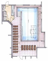 floor plan hotel indoor pool at 4 star hotel post in kaltenbach