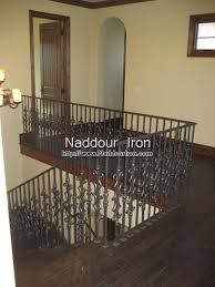 Iron Banister Rails Wrought Iron Stair Rails Naddour Iron