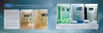 bathroom shower glass door cochin shower glass partition