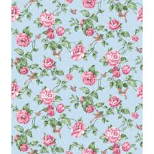 fascinating pink and blue floral wallpaper nice home design