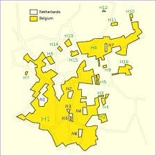 map netherlands belgium baarle nassau