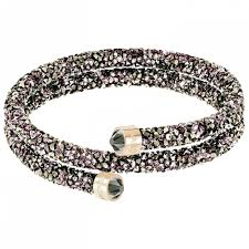 rose gold swarovski crystal bracelet images Crystaldust double bangle rose gold small 5372878 jpg